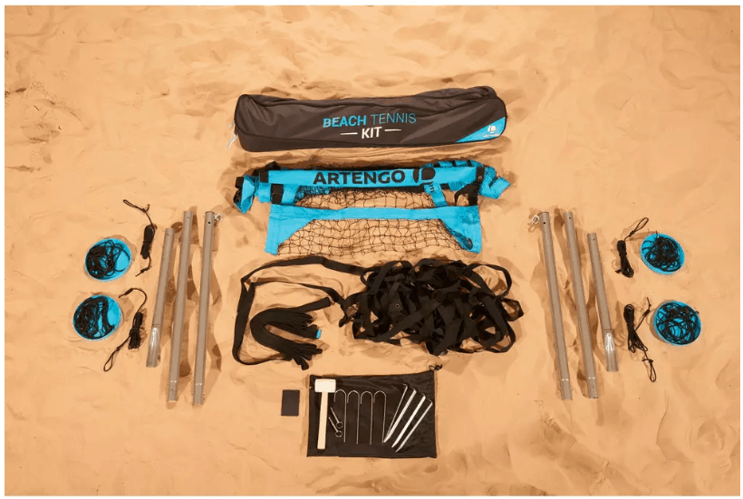Artengo beach tennis set