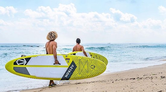 Beste opblaasbare stand up paddle board: Aztron Nova Compact