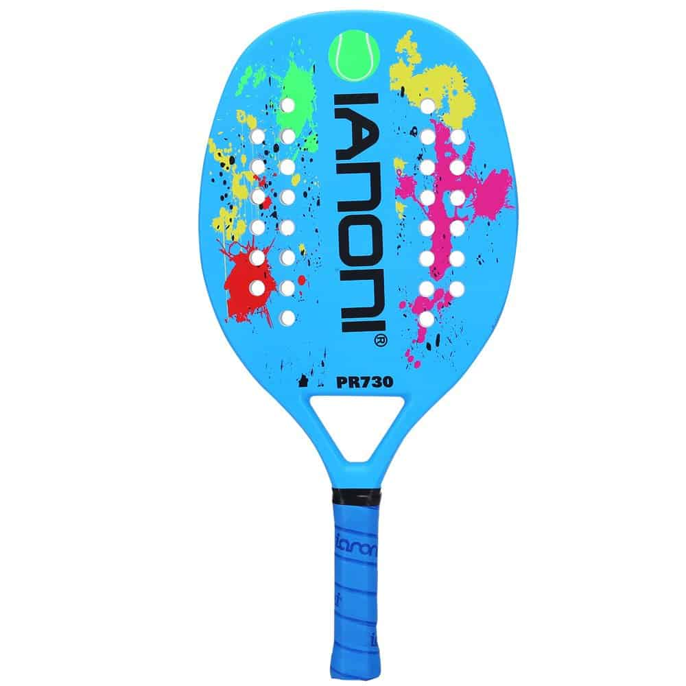 Ianoni carbon fiber beach racket