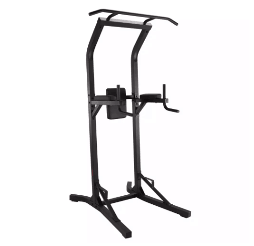 Domyos power tower voor spiertraining met pull-up bar