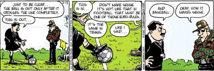 strip over voetbalregels